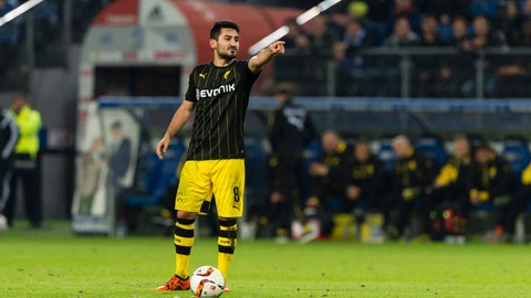 Ilkay Gundogan to Manchester City