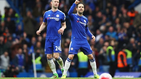 Chelsea - 5/1 to win the league