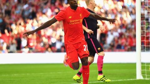 Divock Origi - 6/1 top Liverpool scorer