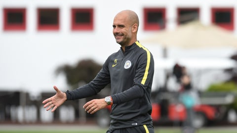 Pep Guardiola — Manchester City