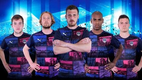Girondins Bordeaux third (Puma)