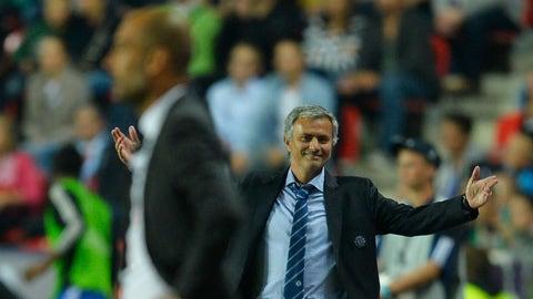 The Jose Mourinho/Pep Guardiola rivalry