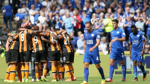 Hull City's win was absolutely shocking