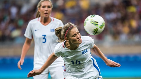 The USWNT still has trouble playing through the midfield