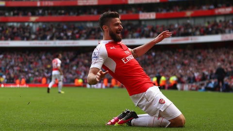 Olivier Giroud - Striker - Arsenal