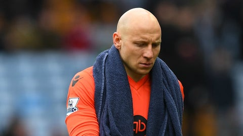 Brad Guzan doesn't dress either