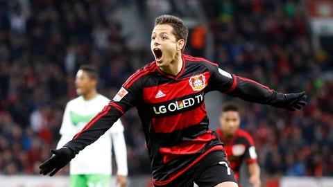Javier Hernandez, Bayer Leverkusen