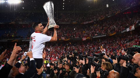 Sevilla's Europa League will probably come to an end