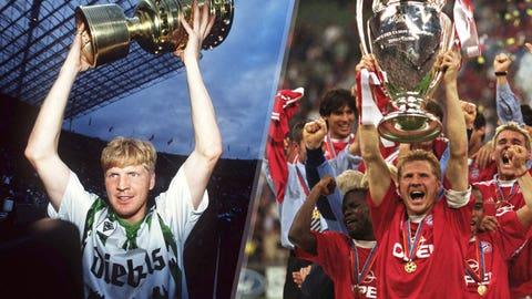 Stefan Effenberg, Mönchengladbach (1986-90, 1994-98) and Bayern Munich (1990-92, 1998-2002)
