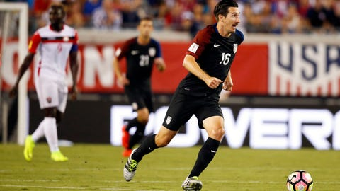 Sacha Kljestan sure made the most of his chance