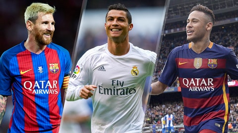 FIFA 17's 50 best players