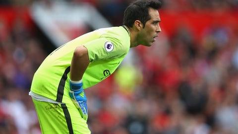 Claudio Bravo, Manchester City