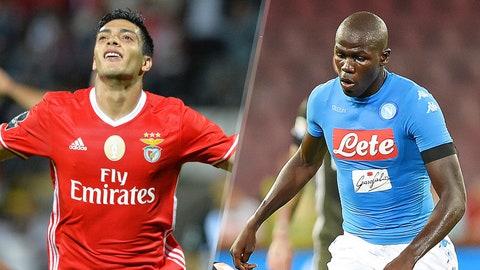 Group B: Benfica, Napoli (Besiktas, Dynamo Kiev)