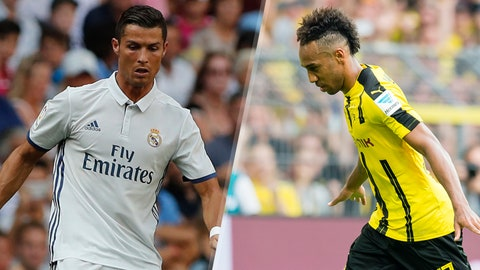 Group F: Real Madrid, Borussia Dortmund (Sporting CP, Legia Warsaw)