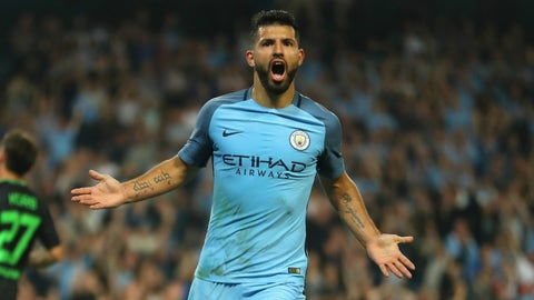 Aguero and City take Gladbach behind the woodshed