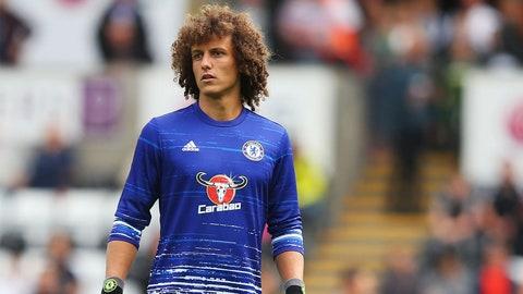 Expect David Luiz to make a resplendent return