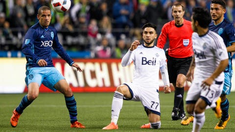 Seattle Sounders vs. Vancouver Whitecaps - Saturday, 4 p.m.