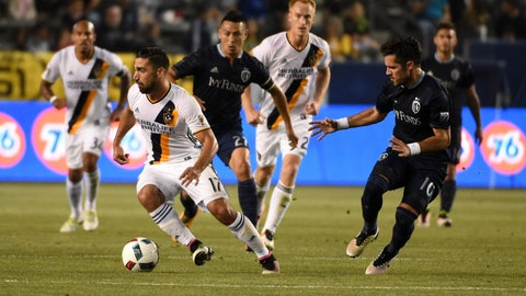 Sporting Kansas City vs. LA Galaxy - Sunday, 2 p.m.