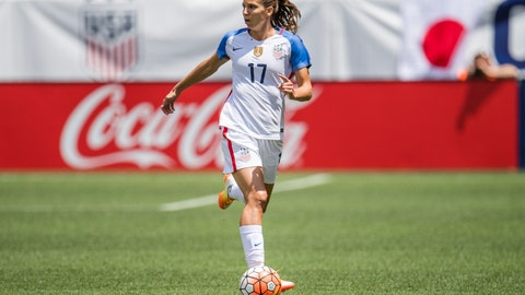 Tobin Heath - USA - 86
