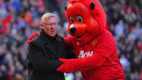 Fred the Red -- Manchester United