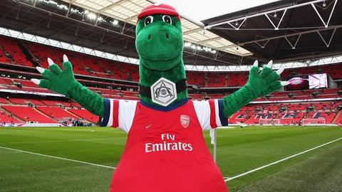 Gunnersaurus Rex -- Arsenal
