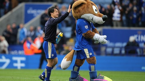 Filbert the Fox -- Leicester City