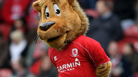 Roary the Lion -- Middlesbrough