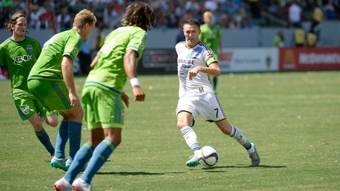 LA Galaxy vs. Seattle Sounders - Sunday, 4 pm