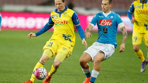 Napoli vs. Chievo - Saturday, 2:45 pm