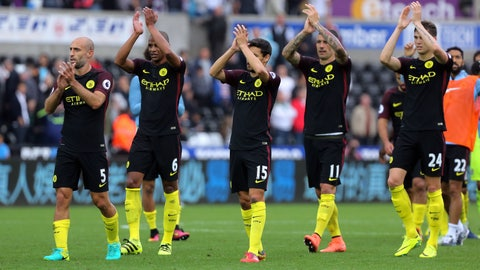 Ho hum, Manchester City