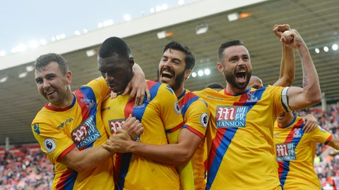 What a comeback by Crystal Palace
