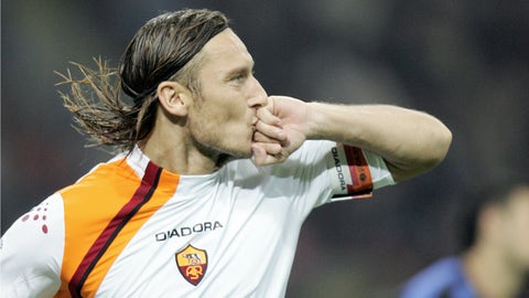 Totti's incredible chip against Inter Milan