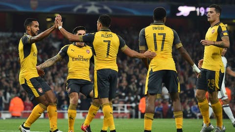 Arsenal might finally win their group