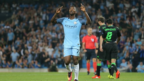 Kelechi Iheanacho, 20, Man City