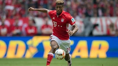 Kingsley Coman, 20, Bayern Munich