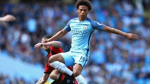 Leroy Sane, 20, Man City