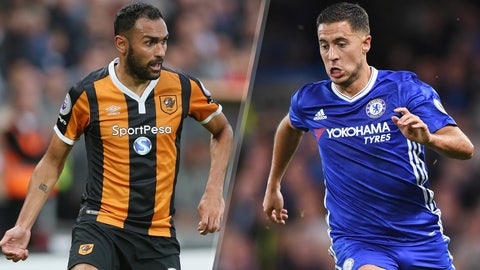 Saturday: Hull City vs. Chelsea