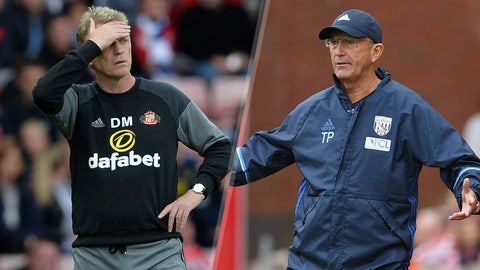 Saturday: Sunderland vs. West Brom