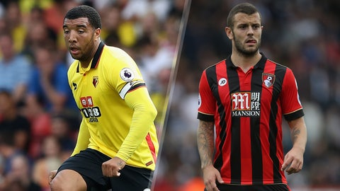 Saturday: Watford vs. Bournemouth