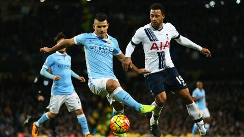 Tottenham vs. Manchester City - Sunday, 9:15 am