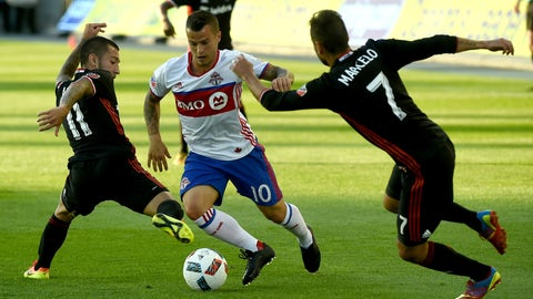 Toronto FC vs. D.C. United - Saturday, 7:30 pm