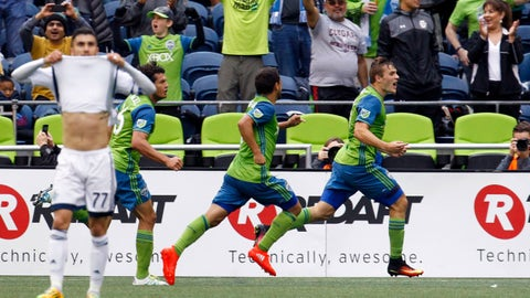 Vancouver Whitecaps vs. Seattle Sounders - Sunday, 8 pm (LIVE on FS1)