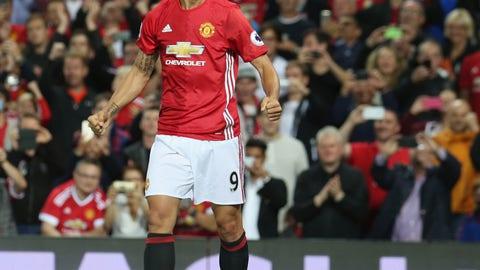 Zlatan Ibrahimovic, Manchester United (90 overall)