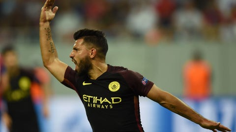 Sergio Aguero, Manchester City (89 overall)