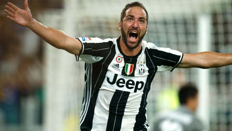 Gonzalo Higuain, Juventus (88 overall)