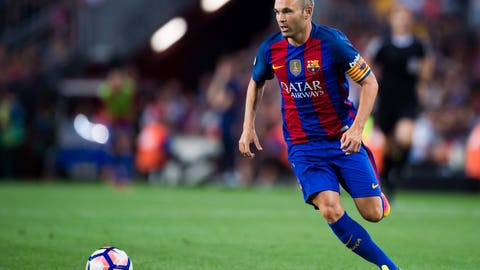 Andres Iniesta, Barcelona (88 overall)