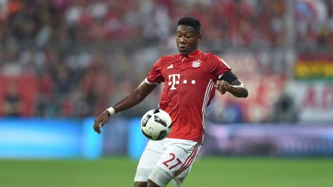 David Alaba, Bayern Munich (87 overall)
