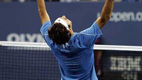 9. 2006 U.S. Open -- Thorn in Roddick's side