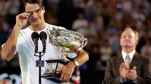 7. 2006 Australian Open -- Back on top in Melbourne