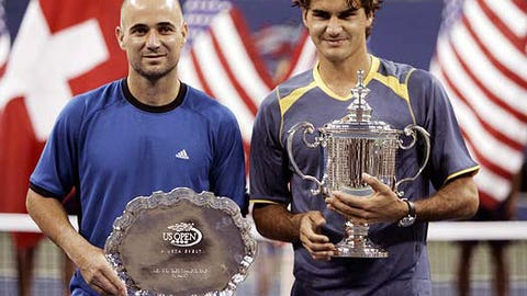 2005 U.S. Open (d. Andre Agassi in 4)